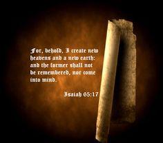Isaiah 65:17