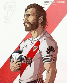 #ponzio Argentina Football, The North Remembers, Football Art, Football Pictures, Carp, Soccer Players, Mickey Mouse, Tonga, Gaston
