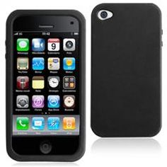Silicon Case Cover for iPhone 4  simple is the coolest style