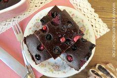 [Rezept] Vegane Brownies mit Waldbeeren *superduperfudgy*   rehlein backt   Bloglovin'