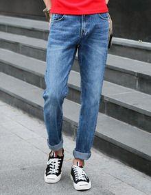 Today's Hot Pick :怀旧风水洗猫须牛仔裤—潮流百搭 http://fashionstylep.com/SFSELFAA0006245/top3666cn/out 潮流牛仔,演绎时尚青春活力!修身的剪裁设计,结合良好的弹性,更好的修饰出健硕的腿部曲线。复古水洗式,加以个性的猫须点缀,带来时尚百搭的潮流牛仔体验,彰显出男性的青春活力!街头百搭款,无论搭配什么,都能让你散发出属于自己的个性! -牛仔裤 -水洗磨白 -猫须做旧 -单色可选
