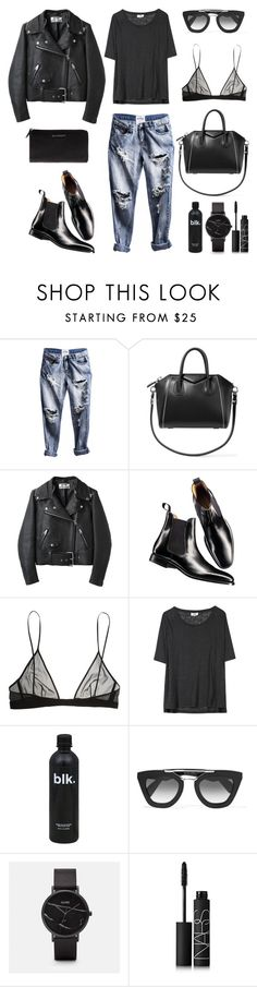 """""""Unbenannt #630"""" by fashionlandscape ❤ liked on Polyvore featuring Givenchy, Acne Studios, Charles Tyrwhitt, Yves Saint Laurent, Prada and NARS Cosmetics"""
