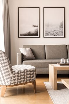 Cozy living in our hotel rooms. Cozy Living, Modern, Love Seat, Accent Chairs, Rooms, Couch, Furniture, Home Decor, Upholstered Chairs