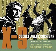 X-9 Secret Agent Corrigan: 1980-1982
