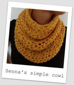 Cuello de ganchillo / Crochet cowl