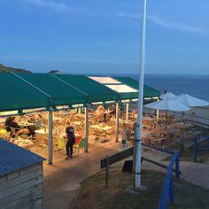 hive beach cafe DORSET