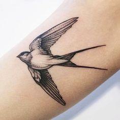 Leg Tattoos, Body Art Tattoos, Small Tattoos, Cool Tattoos, Swallow Bird Tattoos, Bird Tattoo Men, Tatoo Designs, Sketch Tattoo Design, Future Tattoos