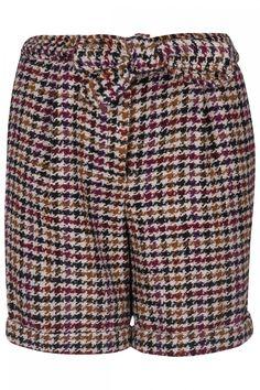 Steffen Schraut Damen Short mit Hahnentritt-Muster Bunt | SAILERstyle Pullover, Patterned Shorts, Bunt, Tops, Fashion, Elegant Clothing, Breien, Pattern, Curve Dresses