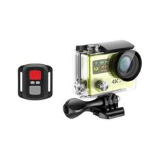 EKEN H8R Sport Action Camera DV VR 4K Ultra HD Dual Screen WiFi 2.4G Controller Sale - Banggood.com