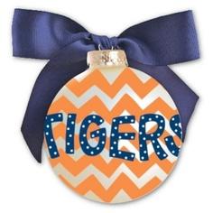 tigers ornament