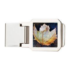Fall Leaf Money Clip on CafePress.com