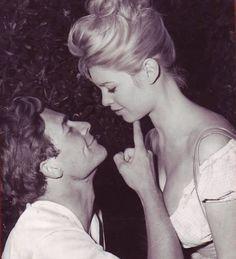 ; Brigitte Bardot & husband Jacques Charrier   #BB