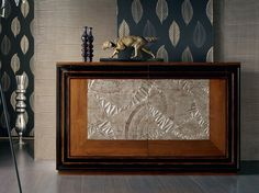ÉTOILE DAY Silver leaf sideboard by Cantiero design Arbet Design