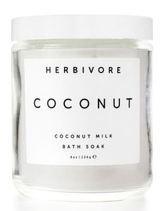 Herbivore Botanicals Coconut Bath Soak $23.00 - from Well.ca