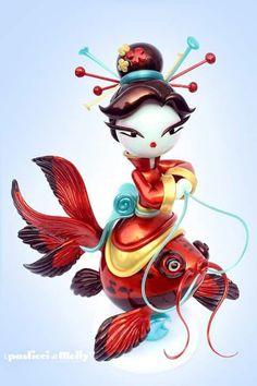 Sugar Art, Chinese New Year, Cake Art, Fantasy Art, Disney Characters, Fictional Characters, Oriental, Disney Princess, Instagram Posts