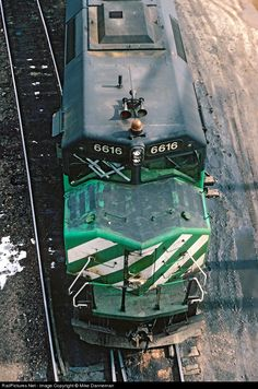 RailPictures.Net Photo: BN 6616 Burlington Northern Railroad EMD F45 at Denver, Colorado by Mike Danneman