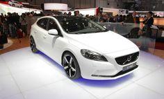 2013 Volvo V40 Front White