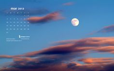Moonheaven #March desktop #calendar by Nikolas Diamondidas  free download!