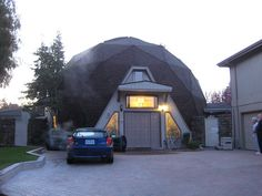 5/8ths Geodesic dome home built in the mid 80's. It's located in a sleepy suburb in Concord, California