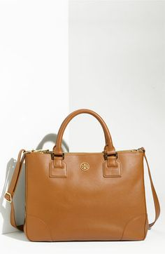 a little more realistic...Tory Burch 'Robinson' Double Zip Tote | Nordstrom