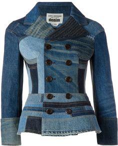 Junya Watanabe Comme Des Garçons patchwork denim jacket