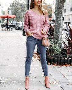 """392 Likes, 3 Comments - lauren nicole (@shoplaurennicole) on Instagram: """"With Valentines Day around the corner, we are loving all things blush! 💓 Hold Me Tight Sweater,…"""""""