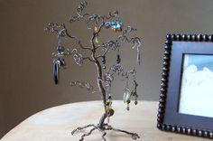 Jewelry Tree Stand Earring Display and Organizer - 12 inches - MADE TO ORDER