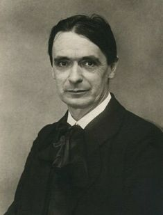 Rudolf Steiner in 1915.