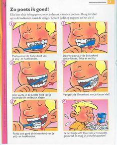 tanden poetsen tekening - Google zoeken