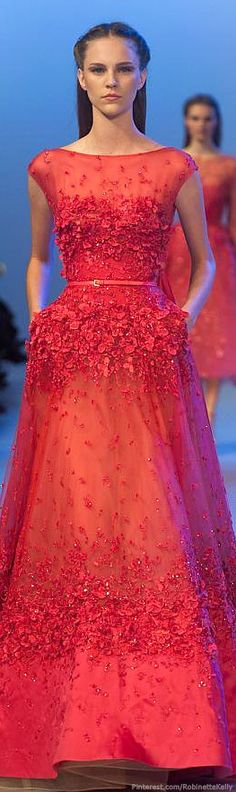 Elie Saab - Paris Haute Couture Fashion Week Spring 2014 - his gowns are amazing Elie Saab Haute Couture, Haute Couture Fashion, Spring Couture, Ellie Saab, Beautiful Gowns, Beautiful Outfits, Elie Saab Printemps, Elie Saab Spring, Collection Couture