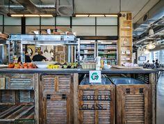 Facebook 以色列工業風辦公室,慵懶散漫地上班吧! | 設計王