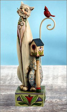 Jim Shore Cat Figurines - Heartwood Creek Collection