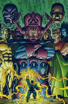 Thanos vs Galactus | Click on image to see larger version! Image will appear in new browser ...