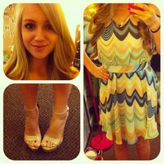 The newest Chic of the Week looking adorable in LC Lauren Conrad