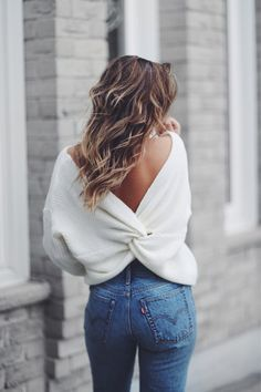 sweet backless style