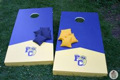 As you probably know, we are getting ready for Nick's Graduation Party on Sunday. Doug has been working super hard the last couple days on a Cornhole Toss not only for the party, but also to play d...