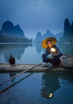 Cormorant Fisherman, Xingping, Li River