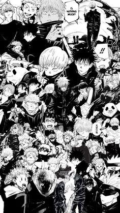 Jujutsu Kaisen Manga Wallpaper