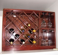 When you are an avid wine drinker there is nothing more annoying that not having a place to display your prized collection of vintage wine. With a wine rack you can proudly display and keep track of those vintages easier and expertly.