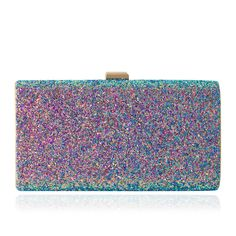 💖MERMAID Rainbow GLITTER Clutch Crossbody Shoulder Handbag Evening Purse  Bag!💖  973d22122421
