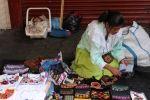 vendiendo en el mercado