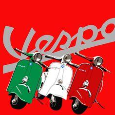 Discover recipes, home ideas, style inspiration and other ideas to try. Vespa Bike, Vespa 150, Piaggio Vespa, Lambretta Scooter, Vespa Scooters, Vintage Vespa, Vespa Retro, Retro Vintage, Mod Scooter