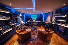 "A ""Phenomenal Concept,"" and A Mega Synth Studio Goes Minimalist — SonicScoop Cape Cod Style, Music Studios, Small Windows, News Studio, Small Studio, Ceiling Height, Minimalist, Concept, Design"