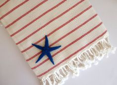 Organic Bamboo Turkish Towel Bath Natural by TheAnatolian on Etsy, $32.50
