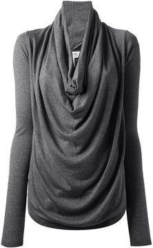 Nicole Farhi cowl neck sweater on shopstyle.com