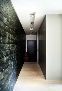 cz - Dům u lesa Modern Barn House, Design Case, Concrete, New Homes, Bathtub, House Design, Contemporary, Architecture, Building