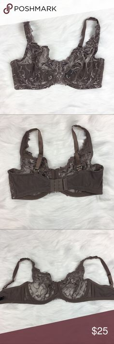 Soma Lace Unlined Bra Soma dark grey lace unlined bra. Size 36D. GUC with no major flaws. ❌No trades ❌ Modeling ❌No PayPal or off Posh transactions ❤️ I Bundles ❤️Reasonable Offers PLEASE ❤️ Soma Intimates & Sleepwear Bras
