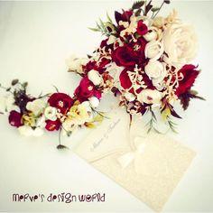 Gelin Buketi&Damat Yaka Çiçeği  TANITIM AMAÇLI İNDİRİMLİ FİYATTIR isteğe göre kemer ve taç yapılır  Kişiye özel çalışılır ☺️ sipariş ve fiyat için Dm'den mesaj atabilirsiniz #gelin #damat #çicek #buket #lale #gül #orkide #papatya #gelinçiçeği #wedding #uygunfiyat #kişiyeözel #düğün #nişan #söz #tasarım #fashion #moda #style #hijab #hijabi #vintage