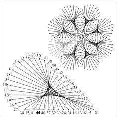 free pattern string art - Cerca con Google