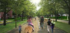 West 8 Urban Design & Landscape Architecture / projects / Groene Loper-A2 Maastricht